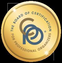 Certified Professional Organizer logo Kim Oser