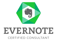Evernote Certified Consultant logo Kim Oser