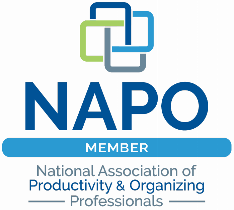 NAPO National Association of Productivity and Organizing Professionals Member logo Kim Oser