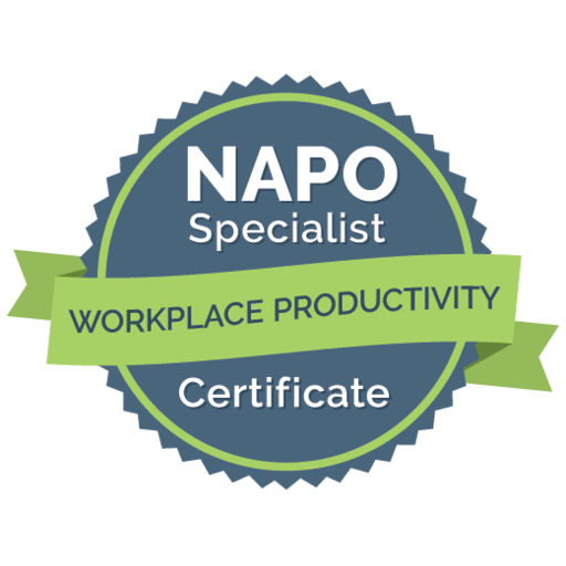 NAPO Workplace Productivity Specialist Certificate Kim Oser